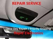 Mercury Grand Marquis 98 - 11 Overhead Console Temp Compass Fuel Display Repair