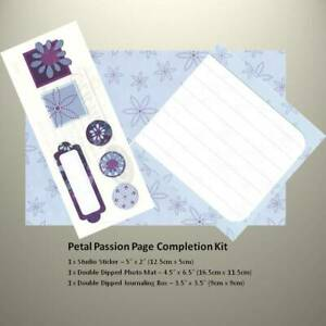 NEW Creative Memories - DOUBLE DIPPED - Page Completion Kit - PETAL PASSION