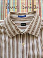 Paul Smith Men's SHIRT Size 16.5 / 42 - Double Cuffs -  EXCEPTIONAL SHIRT !!!