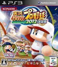 Used PS3  Powerful Pro Yakyuu 2012 SONY PLAYSTATION 3 JAPAN JAPANESE IMPORT