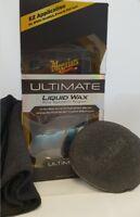Meguiar's Ultimate Liquid Wax 473ml Applicator and Cloth Included G18216EU
