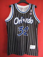 Maillot Basket Magic d'Orlando Shaquille O'Neal Vintage Champion USA - M