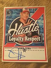John Cena Signed Licensed WWE NEW Mini Photo Poster PSA/DNA Quick Opinion