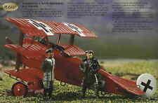 Britains William Britain World War 1 00158 Fokker Dr 1 Plane Red Baron RARE