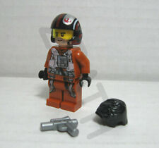 Lego Star Wars Ep 9 NEW Poe Dameron minifigure 75273 X-Wing Fighter 2020 Rise