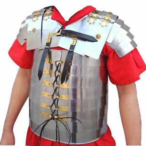 Roman Lorica Segmentata Medieval Knight Armor Costume for Reenactment Role Play