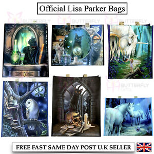 Large Reusable Womens Ladies Shopping Tote Bag Travel Foldable Lisa Parker Owls