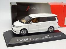 J Collection 1/43 - Honda Elysion Aero Version 2005 Blanche