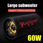 60W Bluetooth Speaker Super Bass Subwoofer Column Cinematic Stereo Sound Mobile