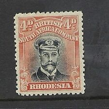 Mint Hinged George V (1910-1936) Rhodesian Stamps