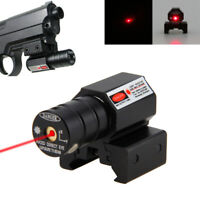 Picatinny Red Laser Dot Sight Alcance táctico para pistola Rifle Pistol Mount AC