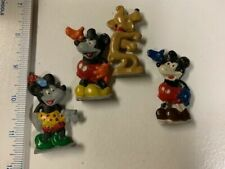 OLD LEAD DISNEY Minnie Mickey Mouse Goofy Lead Figure Hand Painted