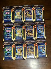 Lot (12) - Pokemon XY Evolutions Blister Pack 10 + 5 Additional Cards Per Pack