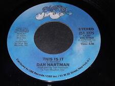 Dan Hartman: This Is It / Countdown 45