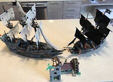 Pirates of Caribbean Flying Dutchman, Black Pearl, Water Wheel Megablocks Bundle
