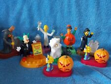 Set Of 8 Burger King Simpson Halloween Toys
