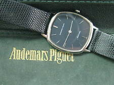 18Kt Audemars Piguet Automatic White Gold Leather Strap Watch 94057