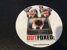 DOCUMENTARY MOVIE: OUT FOXED (DVD) Disc Only  #54
