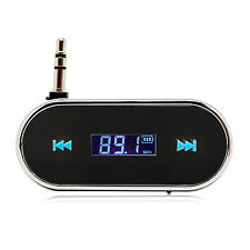 Car FM Wireless Radio Transmitter Music Handsfree For iPhone 6 5S 5C 5 BLACK
