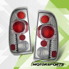 1997-2003 Ford F150/1999-2007 F250 F350 Super Duty Chrome Rear Brake Tail Lights