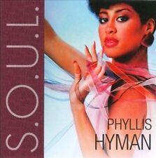 Phyllis Hyman - S.O.U.L. -  New Factory Sealed CD