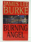 BURNING ANGEL by James Lee Burke  **SIGNED** 1st ed. - UNCORRECTED PROOF COPY
