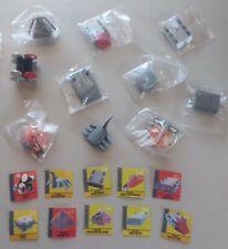 10pc 2001 Battlebots Minibot Pvc Figure Collection #2