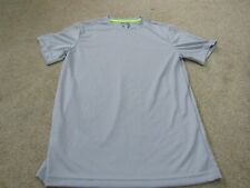 Starter Regular Fit Core Tee Exercise T-Shirt, Size Small 34-36 grey