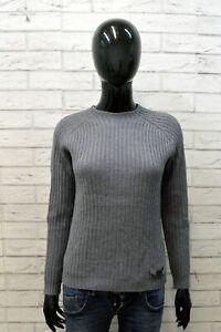 Moschino Donna Maglione Pullover in Lana Taglia M Cardigan Maglia Woman Sweater