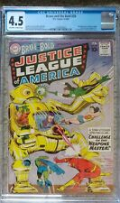 BRAVE & THE BOLD #29 2ND JUSTICE LEAGUE CGC 4.5 VG+ DC 5/1960