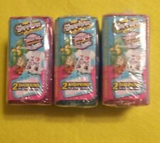 SHOPKINS World Vacation Season 8 Final Destination Americas  Lot Of 3  Packs NEW