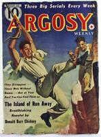Argosy Weekly July 13, 1940 Pulp Magazine, Jack Byrne, Donald Barr Chidsey