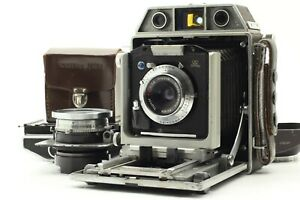 *EX+5*TOPCON HORSEMAN 970 w/65mm F/5.6,105mm F/4.5 Lens,Roll Film Holder #FedEx#
