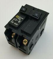 Square D HOM220CP Double-Pole Standard Trip Circuit Breaker 20A 120//240V