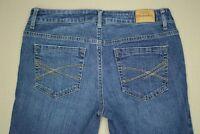 Aeropostale Bayla Skinny Jeans Women's Size 4 Short Medium Wash Denim