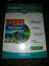Prentice Hall Student Express World Studies Latin America 2 CD ROM set Education