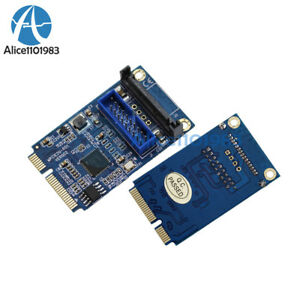 Mini PCI-E to USB Adapter PCIE to 19Pin SATA Dual USB3.0 Expansion Adapter Card