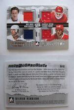2010-11 ITG Decades R-12 Messier Bossy Tretiak Krutov 1/1 quad jersey 1 of 1