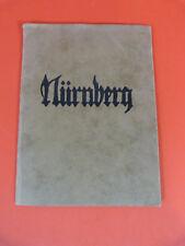 Carl Thiemann, Nürnberg, Mappe, Originalholzschnitte, Maße 25 x 18,5