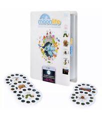 NEW Moonlite Storybook & Cell Phone Projector + 5 Eric Carle Story Reels BONUS