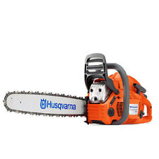 "New Husqvarna 460 Rancher Gas Powered Chainsaw 60.3cc 24"" Bar 3/8 .050 Gauge"