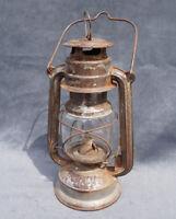 Antique German Bat 158 Kerosene Lamp Petrol Lantern Light Camping Scouts Hunting