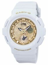 Casio Baby-G Shock Resistant World Time Analog Digital BGA-195M-7A Womens Watch