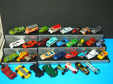 34 CAR LOT HOT WHEELS MATCHBOX Lego cars as shown