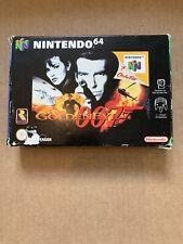 007 Goldeneye Nintendo N64 Game Boxed CIB