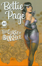 Bettie Page: The Curse of the Banshee Nr. 2 (2021), Variant Cover B Linsner, new