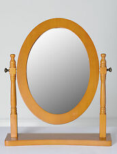 Seconique Contessa Dressing Table Mirror - Pine