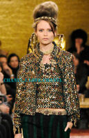 CHANEL 11A $7.5K PARIS BYZANCE SEQUIN EMBROIDERED LESAGE JACKET BLAZER,38,NEW