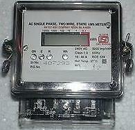 Electricity Consumption / KWH Meter/ Energy Meter To check electric consumption.