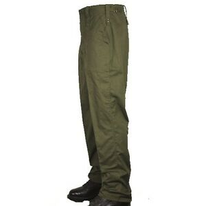 BRITISH ARMY LIGHTWEIGHT COMBAT TROUSERS MILITARY OLIVE GREEN BRAND NEW UNISEX